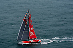 Dongfeng Race Team trains on Hong Kong waters ahead the 2014/15 Volvo Ocean Race on February 16, 2014 in Hong Kong, China. Photo by Victor Fraile / Power Sport Images