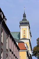 Franziskanerkirche in Posnan (Posen), Woiwodschaft Großpolen (Województwo wielkopolskie), Polen Europa<br /> Franciscan Church in Posnan, Poland, Europe