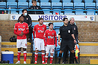 Charlton bring on three substitutes at the same time in the second half during Gillingham vs Charlton Athletic, Sky Bet EFL League 1 Football at the MEMS Priestfield Stadium on 21st November 2020