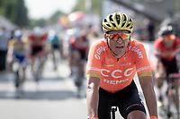 Greg Van Avermaet (BEL/CCC) crossing the finish line<br /> <br /> Belgian National Road Championships 2019 - Gent<br /> <br /> ©kramon