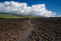Kings Highway path. Mekena, Maui, Hawaii