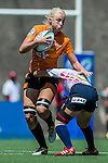 Japan vs Netherlands during the Day 2 of the IRB Women's Sevens Qualifier 2014 at the Skek Kip Mei Stadium on September 13, 2014 in Hong Kong, China. Photo by Aitor Alcalde / Power Sport Images