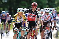 26th May 2021; Canazei, Trentino, Italy; Giro D Italia Cycling, Stage 17 Canazei to Sega Di Ala ; Lotto-Soudal team mate and on his left, Australian MEYER Cameron AUS