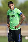 Getafe CF's Mathias Olivera during training session. September 1,2021.(ALTERPHOTOS/Acero)