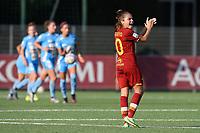4th September 2021; Agostino di Bartolomei Stadium, Rome, Italy; Serie A womens championship football, AS Roma versus Napoli ; Manuela Giuliano of AS Roma
