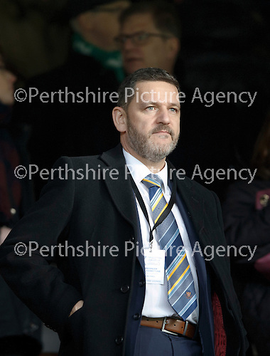 Hibs v St Johnstone...30.01.16   Utilita Scottish League Cup Semi-Final, Tynecastle..<br /> St Johnstone Chairman Steve Brown<br /> Picture by Graeme Hart.<br /> Copyright Perthshire Picture Agency<br /> Tel: 01738 623350  Mobile: 07990 594431