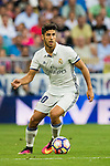 Marco Asensio Willemsen of Real Madrid in action during their La Liga match at the Santiago Bernabeu Stadium between Real Madrid and RC Celta de Vigo on 27 August 2016 in Madrid, Spain. Photo by Diego Gonzalez Souto / Power Sport Images