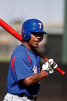 Marcus Lemon -Texas Rangers - 2009 spring training.Photo by:  Bill Mitchell/Four Seam Images
