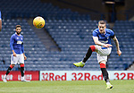 25.07.2020 Rangers v Coventry City: Ryan Kent with a piledriver