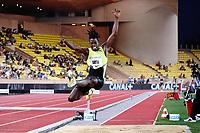 9th July 2021, Monaco, France; Diamond League Athletics, Herculis meeting, Monaco; Tajay Gayle Jamaica womens long jump
