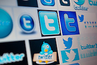 Wednesday 22 January 2014<br /> Pictured:Twitter logos found on the internet<br /> Re: Former footballer Stan Collymore has accused Twitter of not doing enough to combat abusive messages after he was targeted by internet trolls. The broadcaster has retweeted some of the offensive messages he has received since he suggested Liverpool striker Luis Suarez dived to earn a penalty in Saturday's match against Aston Villa.
