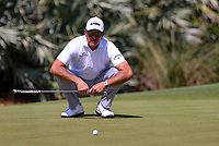 14th March 2021; Ponte Vedra Beach, Florida, USA;  Phil Mickelson of the United States looks for the line on the green on the 10th hole during the final round of THE PLAYERS Championship on March 14, 2021 at TPC Sawgrass Stadium Course in Ponte Vedra Beach, Fl.