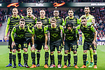 Team Sporting CP squad poses for photos prior to the UEFA Europa League quarter final leg one match between Atletico Madrid and Sporting CP at Wanda Metropolitano on April 5, 2018 in Madrid, Spain. Photo by Diego Souto / Power Sport Images
