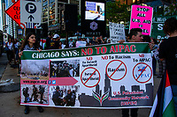 Protesting AIPAC Chicago Illinois 5-30-19