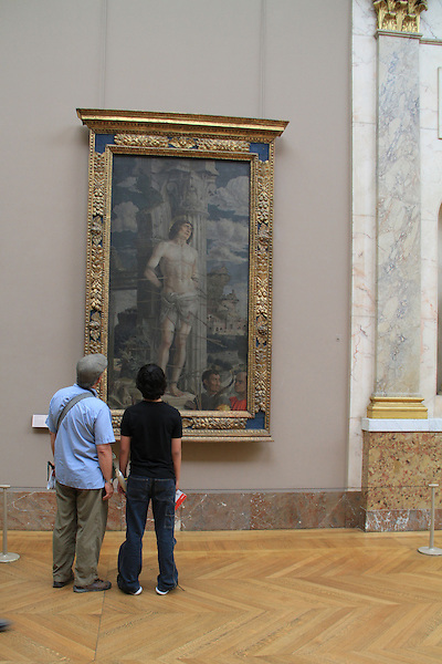 Father and son view painting in the Louvre Museum, Paris, France. .  John offers private photo tours in Denver, Boulder and throughout Colorado, USA.  Year-round. .  John offers private photo tours in Denver, Boulder and throughout Colorado. Year-round.