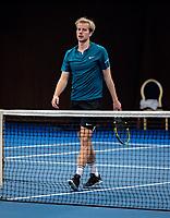 Alphen aan den Rijn, Netherlands, December 13, 2018, Tennispark Nieuwe Sloot, Ned. Loterij NK Tennis, Botic van de Zandschulp NED)<br /> Photo: Tennisimages/Henk Koster