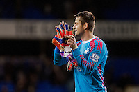 LONDON, ENGLAND - MARCH 04:  Lukasz Fabianski of Swansea City applauds the travelling fans  during the Premier League match between Tottenham Hotspur and Swansea City at White Hart Lane on March 4, 2015 in London, England.  (Photo by Athena Pictures )