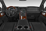 Stock photo of straight dashboard view of a 2015 Lincoln Navigator 2Wd AT 5 Door Suv 2WD Dashboard