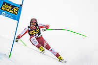29th December 2020; Stelvio, Bormio, Italy; FIS World Cup Super G for Men; Daniel Hemetsberger of Austria in action during his run for the men Super G racemio