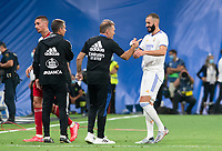 12th September 2021; Estadio Santiago Bernabeu, Madrid, Spain; La Liga, Real Madrid CF versus RC Celta de Vigo; Karim Benzema finished the game with a hat-trick
