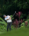 Stewart Cink in action on the first fairway during Round 1 of the CIMB Asia Pacific Classic 2011.  Photo © Andy Jones / PSI for Carbon Worldwide