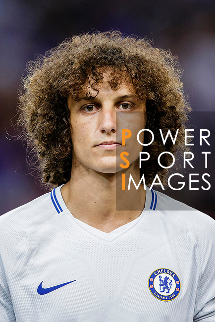 Chelsea Defender David Luiz during the International Champions Cup 2017 match between FC Internazionale and Chelsea FC on July 29, 2017 in Singapore. Photo by Marcio Rodrigo Machado / Power Sport Images