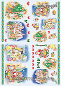 Alfredo, CHRISTMAS SANTA, SNOWMAN, decoupage, paintings(BRTOTOD1124,#X#,#DP#) Weihnachten, Navidad, illustrations, pinturas