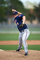Minnesota Twins Trevor Hildenberger (24) during a minor league Spring Training intrasquad game on March 15, 2016 at CenturyLink Sports Complex in Fort Myers, Florida.  (Mike Janes/Four Seam Images)