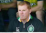 St Johnstone v Celtic....15.09.12      SPL  .A glum Neil Lennon.Picture by Graeme Hart..Copyright Perthshire Picture Agency.Tel: 01738 623350  Mobile: 07990 594431