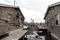 Breezy Point, NY, aftermath of Hurricane Sandy