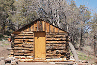 Hunter Cabin, in the Cottonwood Mountains of Death Valley National Park, California