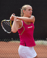 August 6, 2014, Netherlands, Rotterdam, TV Victoria, Tennis, National Junior Championships, NJK,  Isolde de Jong (NED)<br /> Photo: Tennisimages/Henk Koster