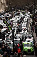 10.02.2016 - London Black Cabs Strike