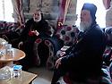 Iraq 2014                <br /> In the monastery of Mar Matta with Bishop Moses Aziz Al Shamany <br /> Irak 2014 <br /> L'eveque Moses Aziz Al Shamany recevant des visiteurs au monastere de Mar Matta ( St. Matthieu )