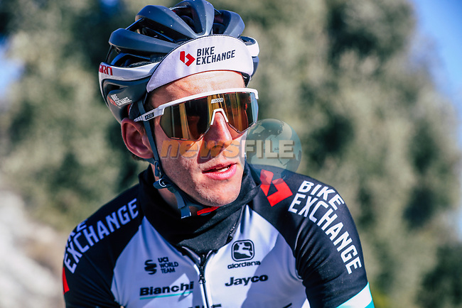 Simon Yates (GBR) Team BikeExchange men's squad during their recent training camp in Calpe, Spain. 18th January 2021.<br /> Picture: Sara Cavallini/GreenEDGE Cycling | Cyclefile<br /> <br /> All photos usage must carry mandatory copyright credit (© Cyclefile | Sara Cavallini/GreenEDGE Cycling)