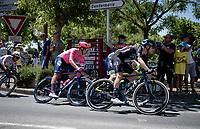Casper Pedersen (DEN/DSM)<br /> <br /> Stage 13 from Nîmes to Carcassonne (220km)<br /> 108th Tour de France 2021 (2.UWT)<br /> <br /> ©kramon