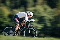 Tony Martin (DEU/Katusha-Alpecin)<br /> <br /> MEN ELITE INDIVIDUAL TIME TRIAL<br /> Hall-Wattens to Innsbruck: 52.5 km<br /> <br /> UCI 2018 Road World Championships<br /> Innsbruck - Tirol / Austria