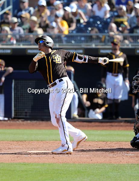 Manny Machado - San Diego Padres 2020 spring training (Bill Mitchell)