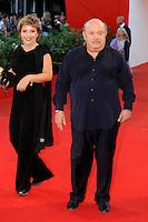 Rossana e Lino BANFI.Venezia / Venice 1/9/2010 67ma Mostra del Cinema.Red Carpet Serata Inaugurale.Foto Stefano Micozzi/Insidefoto