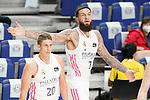 Real Madrid Baloncesto's Vincent Poirier during Liga Endesa ACB 1st Final match. June 13,2021. (ALTERPHOTOS/Acero)