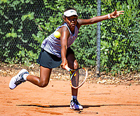 Hilversum, Netherlands, Juli 29, 2019, Tulip Tennis center, National Junior Tennis Championships 12 and 14 years, NJK, Lina Ilahi (NED)<br /> Photo: Tennisimages/Henk Koster