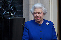 18.12.2012 - Her Majesty Queen Elizabeth II at 10 Downing Street