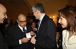 """LINO JANNUZZI CON PIERFERDINANDO CASINI<br /> 75° COMPLEANNO DI LINO JANNUZZI - """"DA FORTUNATO AL PANTHEON"""" ROMA 2003"""