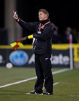 Tony Readings. The USWNT tied New Zealand, 1-1, at an international friendly at Crew Stadium in Columbus, OH.