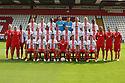 Stevenage FC 1st  team photoshoot - 16/07/13