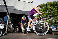 Tim Merlier (BEL/Alpecin-Fenix)<br /> <br /> pre Tour teams presentation of the 108th Tour de France 2021 in Brest at Le Grand Départ <br /> <br /> ©kramon