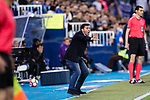Head coach Asier Garitano of Deportivo Leganes in action during their La Liga match between Deportivo Leganes and Real Madrid at the Estadio Municipal Butarque on 05 April 2017 in Madrid, Spain. Photo by Diego Gonzalez Souto / Power Sport Images
