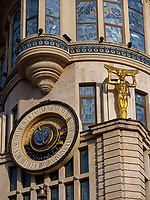 astronomische Uhr, Jugendstilhaus am Europaplatz, Batumi, Adscharien - Atschara, Georgien, Europa<br /> astronomical clock, Art Nouveau Villa at Europe Square,  Batumi, Adjara,  Georgia, Europe