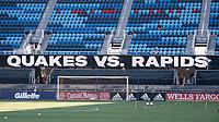SAN JOSE, CA - SEPTEMBER 4: PayPall Park before a game between Colorado Rapids and San Jose Earthquakes at PayPal Park on September 4, 2021 in San Jose, California.