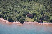 Fourteen Mile Point Lighthouse, Ontonagon, Upper Peninsula of Michigan.
